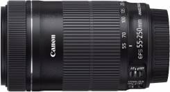 Canon 55-250mm IS STM ! Низкая Цена ! Магазин Скупка 25. Для Canon, диаметр фильтра 58 мм