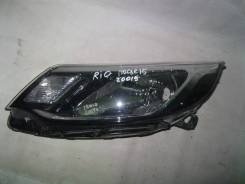 Фара. Kia Rio, QB Двигатели: G4FA, G4FC