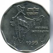 Монета индийская