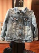 Куртки джинсовые. Рост: 80-86, 86-92, 92-98 см