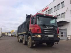 Scania P400. Самосвал 8x4, 12 740 куб. см., 32 430 кг.