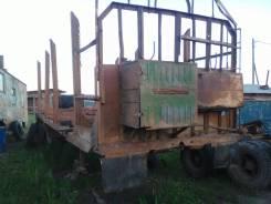 ОдАЗ 9370. Лесовозная площадка прицеп ОДАЗ 9370, 19 100 кг.
