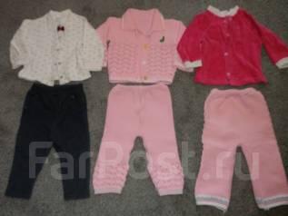 Одежда на девочку р.68-74