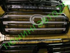 Решетка радиатора. Toyota Land Cruiser, VDJ200, URJ202W, URJ202 Двигатели: 1VDFTV, 1URFE