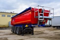 Schmitz S.KI. Самосвальный полуприцеп Schmitz SKI 24 SL 7.2, 32 406 кг.