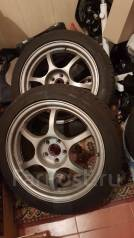 Black Racing. 7.5x17, 5x100.00, ET48