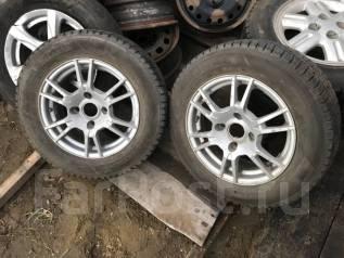 """Продам два колеса R14 на литых дисках. x14"""" 4x100.00"""