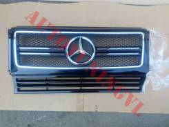 Решетка радиатора. Mercedes-Benz G-Class, W463, W463.200, W463.204, W463.207, W463.220, W463.221, W463.224, W463.225, W463.227, W463.228, W463.300, W4...