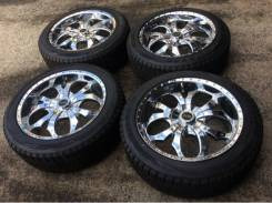 Комплект зимних колес в хорошем состоянии б/п по РФ. 8.5x20 5x114.30, 5x115.00 ET35 ЦО 70,1мм.