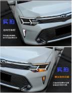 Дневные ходовые огни на фары. Toyota Camry (XV55) 2014-2017.