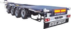 Steelbear. Полуприцеп - контейнеровоз 4-осный 6-ти балочный универсал , 40 600кг. Под заказ