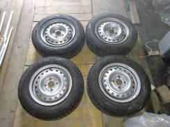 Готовый комплект зимних колёс. x13 4x100.00
