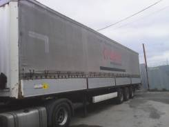 Krone. Полуприцеп Кроне 2007г., штора-борт, подъемная ось, 28 000 кг.