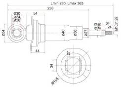 Амортизатор SAT ST56211WD426