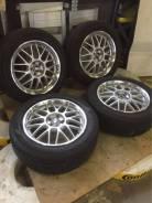 Комплект летних колес в хорошем состоянии б/п по РФ. 7.0x17 5x100.00 ET40 ЦО 70,1мм.
