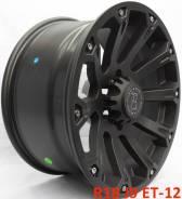 Black Rhino Sidewinder. 9.0x18, 6x139.70, ET-12, ЦО 110,1мм.