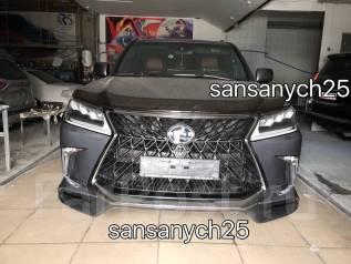 Обвес кузова аэродинамический. Lexus LX450d, URJ200 Lexus LX570 Двигатель 1VDFTV