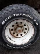 BFGoodrich Mud-Terrain T/A. Всесезонные, 2007 год, износ: 10%, 4 шт