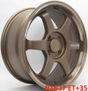 RAYS VOLK RACING TE37 KCR. 7.0x16, 4x114.30, ET35, ЦО 73,1мм.