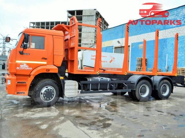 Камаз 6520. Сортиментовоз 2015 года Камаз-6520 632351, 8 900 куб. см., 17 650 кг.