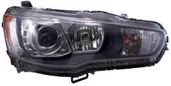 Фара. Mitsubishi Lancer, CY Mitsubishi Lancer X Двигатели: 4A91, 4B11, 4B10, LUVAMODEL