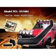 Шноркель. Nissan Patrol Nissan Safari Двигатели: SD33T, SD33