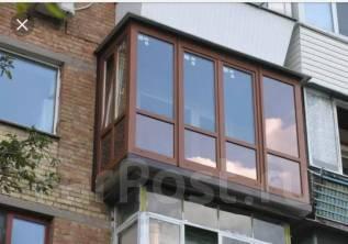 Остекление, расширение балконов, лоджий. Изготовление пластиковых окон.