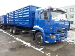 Камаз 65117. зерновоз с прицепом (двс КамАЗ-280 кпп-ZF), 7 777 куб. см., 14 000 кг.