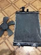 Радиатор охлаждения двигателя. Nissan Cube, AZ10