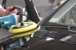 Полировка лакокрасочного покрытия кузова автомобиля