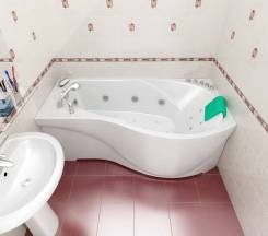 Установка ванн , душевых кабин.