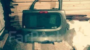 Дверь багажника. Nissan Cube, NZ12, Z12 Двигатели: K9K, HR15DE, HR16DE