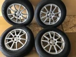 Комплект летних колес в хорошем состоянии б/п по РФ. 6.5x16 5x114.30 ET38 ЦО 70,1мм.