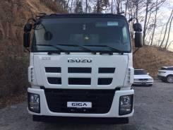 Isuzu Giga. Самосвал Isuzu GIGA (CYZ52P), объем кузова 16 м3., 15 681 куб. см., 19 300 кг.