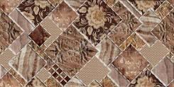 Декор Симфония коричневый /250*500 мм/
