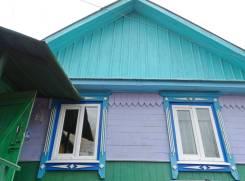 Дом в Золотой Долине!. Центральная, р-н с. Золотая Долина, площадь дома 50 кв.м., скважина, электричество 15 кВт, отопление твердотопливное, от агент...