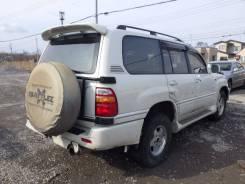 Накладка на порог Toyota LAND CRUISER