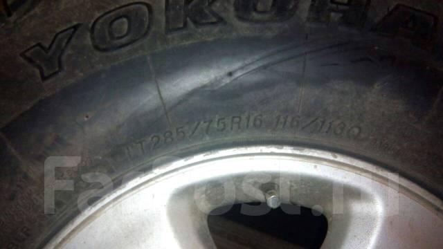 "Зимние колеса с дисками для Toyota Land Cruiser 100 R16 Yokohama. x16"""