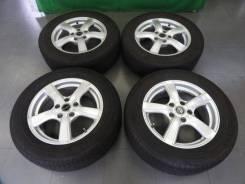 Комплект летних колес в отличном состоянии б/п по РФ. 6.5x16 5x114.30 ET38 ЦО 73,1мм.