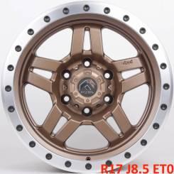 Fuel Anza. 8.5x17, 6x139.70, ET0, ЦО 110,1мм.