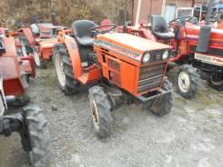 Hinomoto C174. Трактор 17 л. с., 3 цилиндра, 4wd, фреза, 17 л.с.