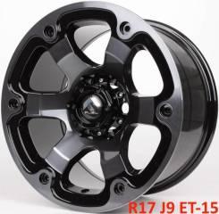 Fuel Beast D564. 9.0x17, 6x139.70, ET-15, ЦО 110,1мм.