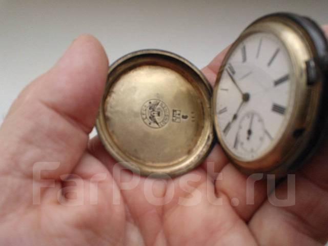 Старинные карманные часы Longines ( Швейцария ). Оригинал