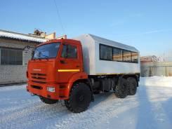 КамАЗ 43118 Сайгак. Вахтовый автобус, 11 762 куб. см., 22 места