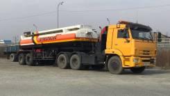 КамАЗ 65116. Продается бензовоз (сцепка тягач + цистерна), 6 700 куб. см., 30 000 кг.