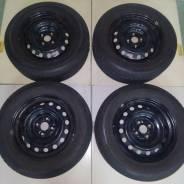 Комплект летних колес в отличном состоянии б/п по РФ. 6.0x15 4x100.00 ET45 ЦО 54,1мм.