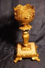 Старая напрестольная лампада. Россия, середина ХХ века. Оригинал