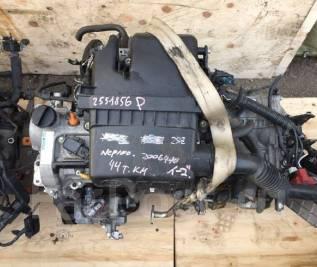 Двигатель в сборе. Toyota Vitz, SCP90 Toyota Belta, SCP92 Toyota Ractis, SCP100 Двигатель 2SZFE. Под заказ