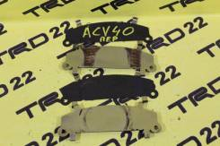 Пластина суппорта. Toyota Camry, ACV45, AHV40, GSV40, AVV50, ACV40, ACV41 Двигатели: 2ARFXE, 2AZFE, 2GRFE, 1AZFE, 2AZFXE