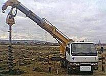 Mitsubishi Canter. Ямобур, 4 200 куб. см., 3 000 кг.
